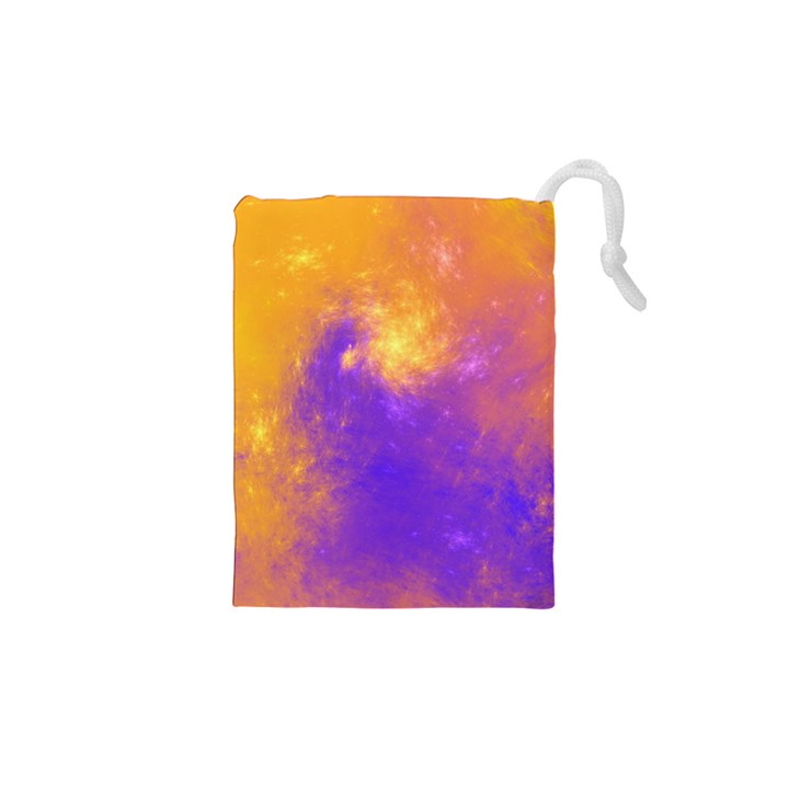 Colorful Universe Drawstring Pouches (XS)