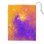 Colorful Universe Drawstring Pouches (XXL) Front