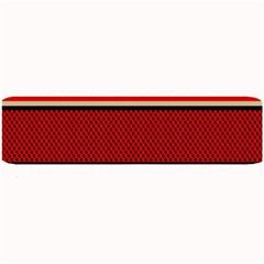 Background Damask Red Black Large Bar Mats