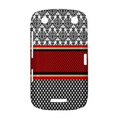 Background Damask Red Black BlackBerry Curve 9380