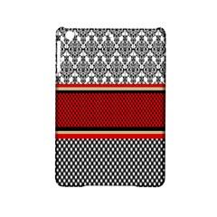 Background Damask Red Black iPad Mini 2 Hardshell Cases