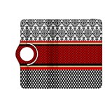 Background Damask Red Black Kindle Fire HDX 8.9  Flip 360 Case Front