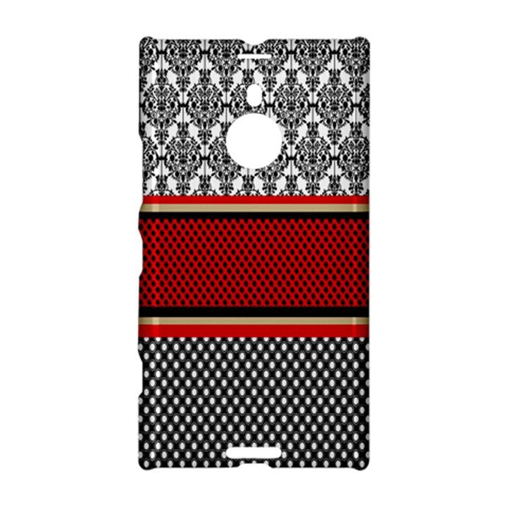 Background Damask Red Black Nokia Lumia 1520