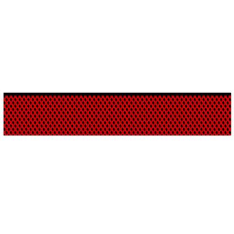 Background Damask Red Black Flano Scarf (Large)