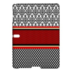 Background Damask Red Black Samsung Galaxy Tab S (10.5 ) Hardshell Case
