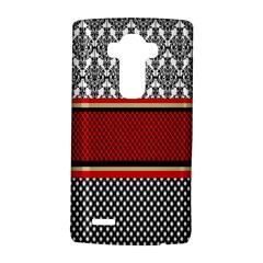 Background Damask Red Black LG G4 Hardshell Case