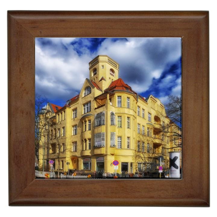 Berlin Friednau Germany Building Framed Tiles