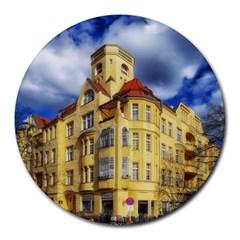 Berlin Friednau Germany Building Round Mousepads