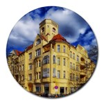 Berlin Friednau Germany Building Round Mousepads Front