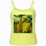 Berlin Friednau Germany Building Yellow Spaghetti Tank Front