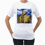 Berlin Friednau Germany Building Women s T-Shirt (White) (Two Sided) Front