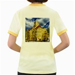 Berlin Friednau Germany Building Women s Fitted Ringer T-Shirts Back