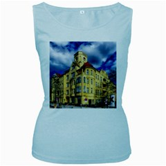 Berlin Friednau Germany Building Women s Baby Blue Tank Top