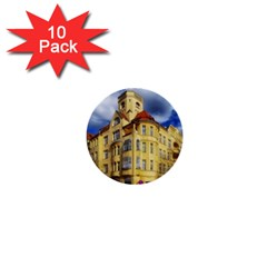 Berlin Friednau Germany Building 1  Mini Buttons (10 pack)