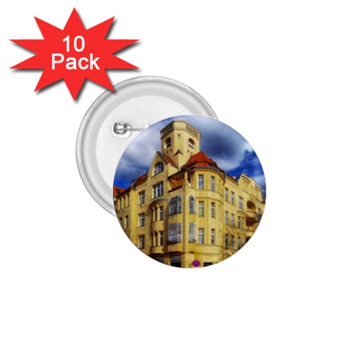 Berlin Friednau Germany Building 1.75  Buttons (10 pack)