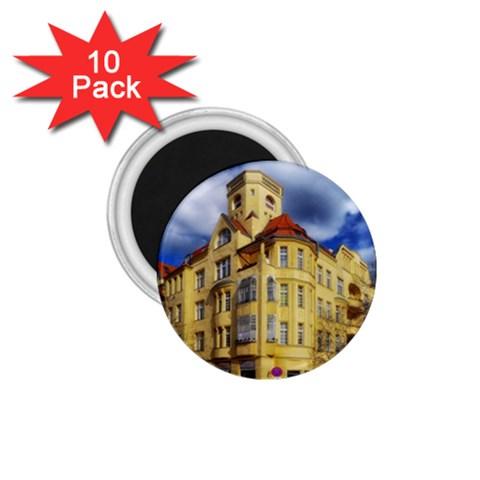 Berlin Friednau Germany Building 1.75  Magnets (10 pack)