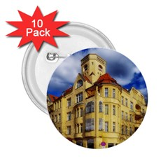 Berlin Friednau Germany Building 2.25  Buttons (10 pack)