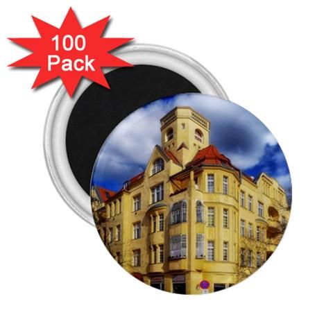 Berlin Friednau Germany Building 2.25  Magnets (100 pack)