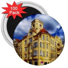 Berlin Friednau Germany Building 3  Magnets (100 pack)