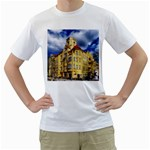 Berlin Friednau Germany Building Men s T-Shirt (White) (Two Sided) Front