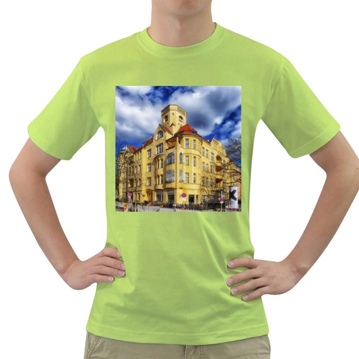 Berlin Friednau Germany Building Green T-Shirt