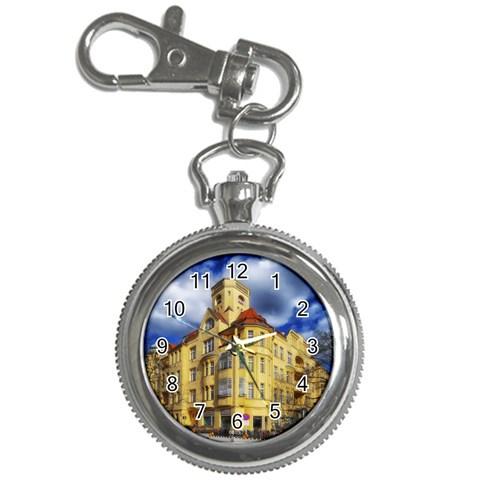 Berlin Friednau Germany Building Key Chain Watches