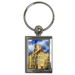Berlin Friednau Germany Building Key Chains (Rectangle)