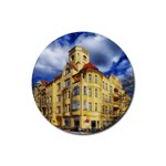Berlin Friednau Germany Building Rubber Coaster (Round)  Front