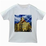 Berlin Friednau Germany Building Kids White T-Shirts Front