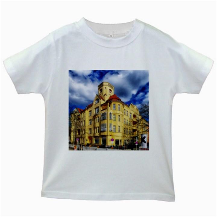 Berlin Friednau Germany Building Kids White T-Shirts