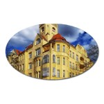 Berlin Friednau Germany Building Oval Magnet Front