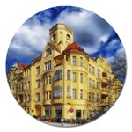 Berlin Friednau Germany Building Magnet 5  (Round) Front