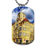 Berlin Friednau Germany Building Dog Tag (One Side) Front