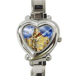 Berlin Friednau Germany Building Heart Italian Charm Watch Front