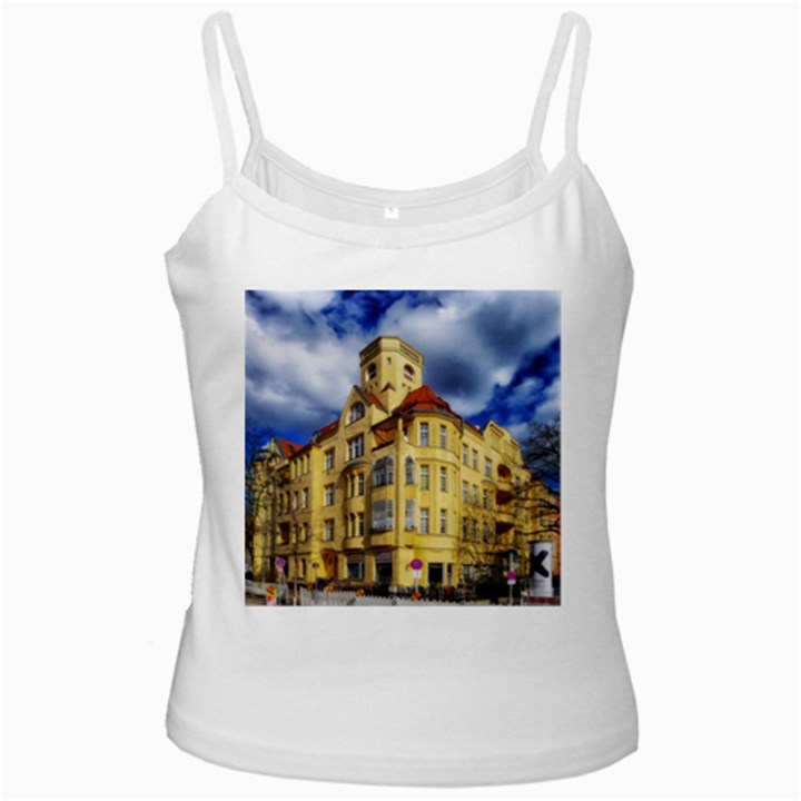 Berlin Friednau Germany Building Ladies Camisoles