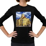 Berlin Friednau Germany Building Women s Long Sleeve Dark T-Shirts Front