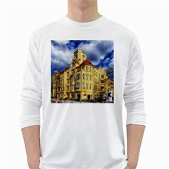Berlin Friednau Germany Building White Long Sleeve T-Shirts
