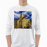 Berlin Friednau Germany Building White Long Sleeve T-Shirts Front