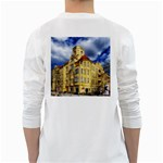 Berlin Friednau Germany Building White Long Sleeve T-Shirts Back