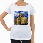 Berlin Friednau Germany Building Women s Loose-Fit T-Shirt (White) Front