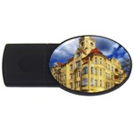 Berlin Friednau Germany Building USB Flash Drive Oval (4 GB)  Front