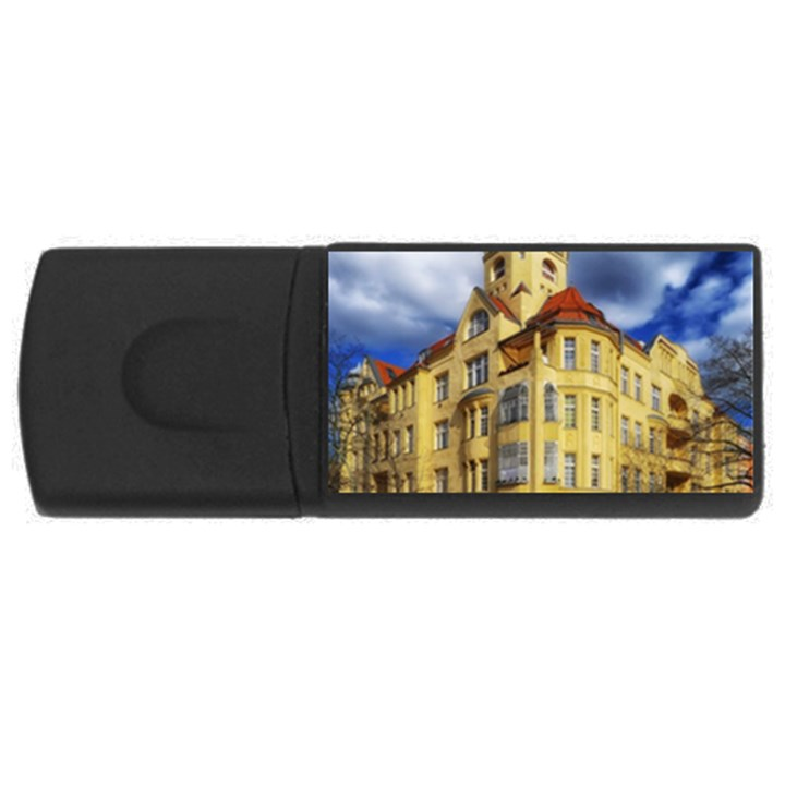 Berlin Friednau Germany Building USB Flash Drive Rectangular (4 GB)
