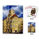 Berlin Friednau Germany Building Playing Card Back