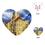 Berlin Friednau Germany Building Playing Cards (Heart)  Front