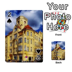 Berlin Friednau Germany Building Playing Cards 54 Designs