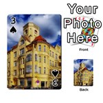 Berlin Friednau Germany Building Playing Cards 54 Designs  Front - Spade3