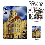 Berlin Friednau Germany Building Playing Cards 54 Designs  Front - SpadeA