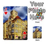 Berlin Friednau Germany Building Playing Cards 54 Designs  Front - HeartJ