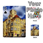 Berlin Friednau Germany Building Playing Cards 54 Designs  Front - Spade5