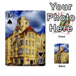 Berlin Friednau Germany Building Playing Cards 54 Designs  Front - Spade10